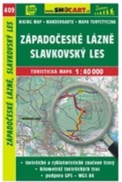 mapa cyklo-turistická Západočeské lázně,409