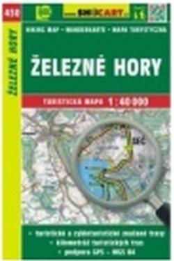 mapa cyklo-turistická Železné hory,430