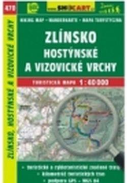mapa cyklo-turistická Zlínsko,470