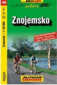 mapa cyklo Znojemsko,165