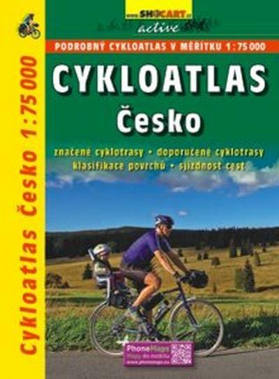 mapa Cykloatlas Česko