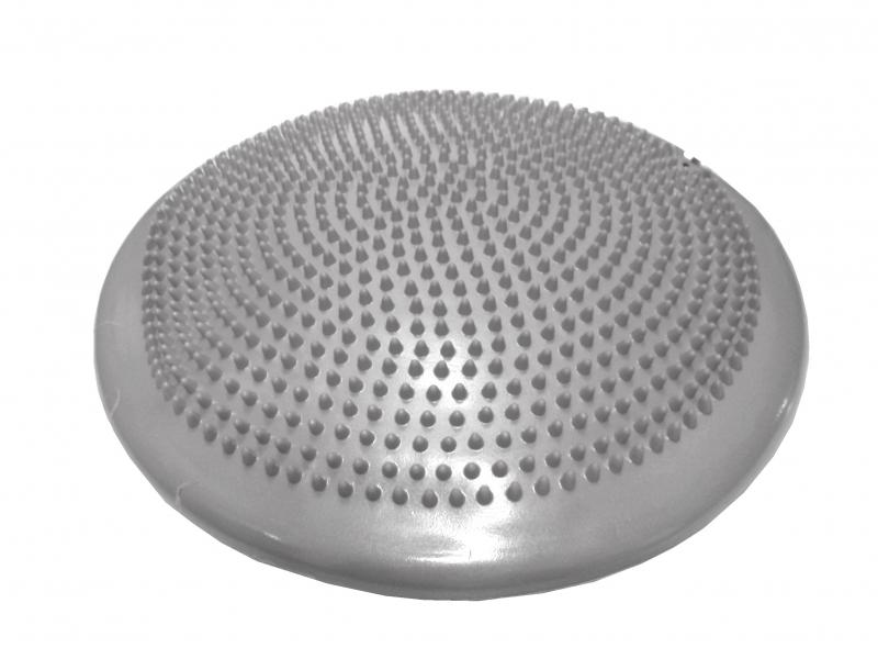 masážní a balanční disk 33cm stříbrný
