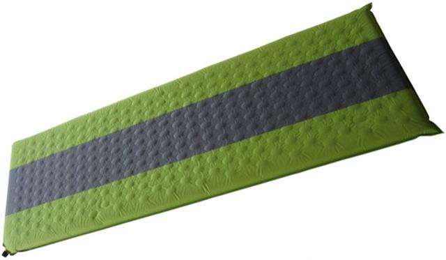 matrace samonafukovací 7cm zelenošedá