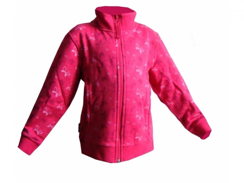 mikina dětská LOAP TANIS růžová, 86