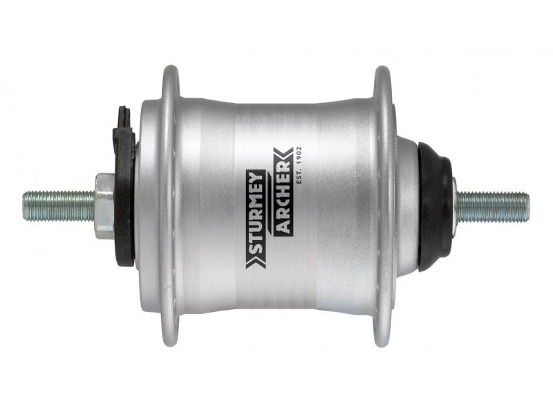 náboj s dynamem Sturmey-Archer HDS12 6V,2.4W 36d stříbrný