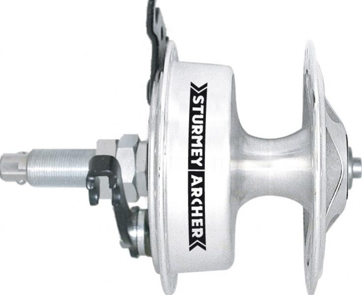 náboj Sturmey-Archer X-SD letmý,bubnová brzda 70mm, RU osa pravý