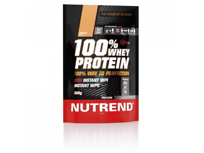 nápoj Nutrend 100% WHEY PROTEIN 500g vanilka