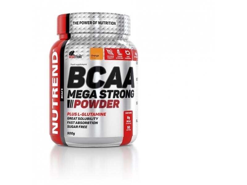 nápoj Nutrend BCAA Mega Strong Powder 500g pomeranč