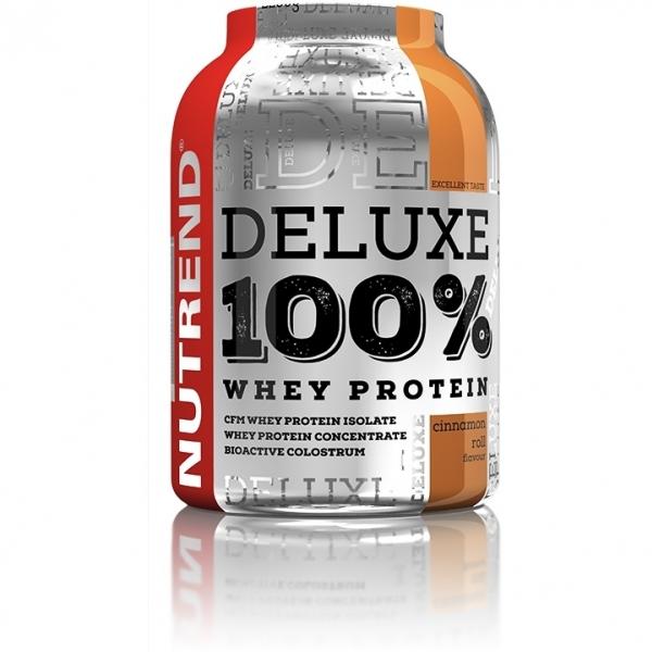 nápoj Nutrend DELUXE 100% WHEY 2250g citronový cheesecake