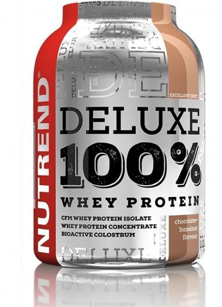 nápoj Nutrend DELUXE 100% WHEY 2250g čokoláda+oříšek