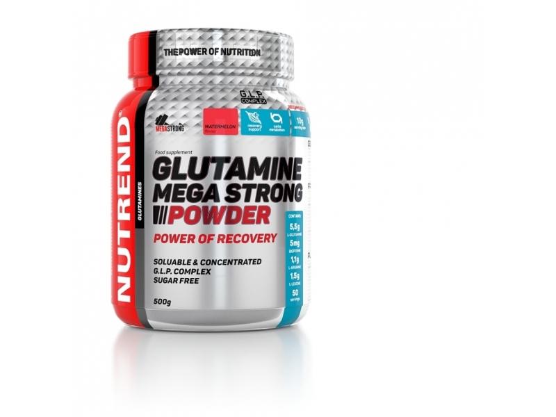 nápoj Nutrend Glutamine Mega Strong 500g punč+brusinka