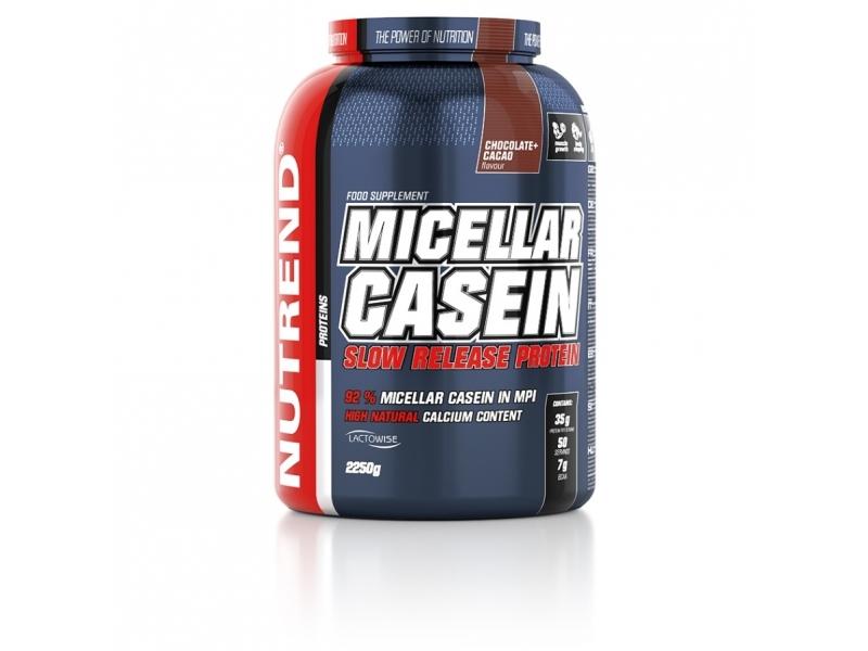 nápoj Nutrend MICELLAR CASEIN 2250g čokoláda+kakao