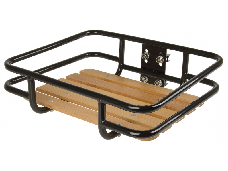 nosič RETRO Fe s dřevěnou plochou