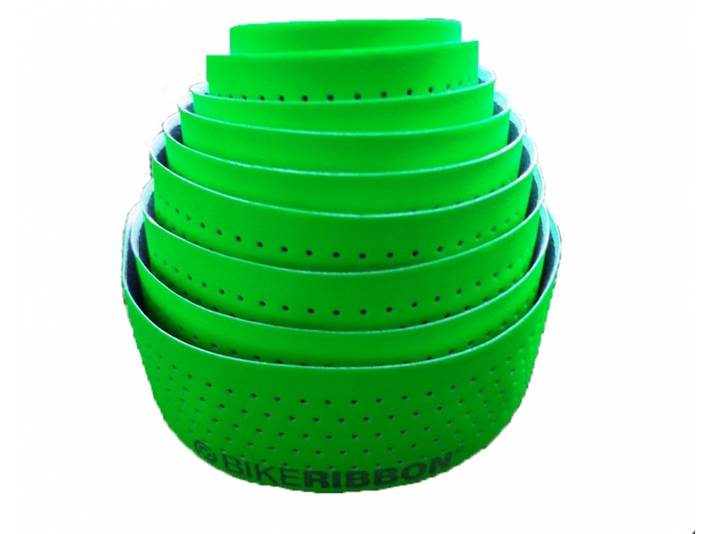 omotávka BIKERIBBON EOLO Fluo reflex zelená