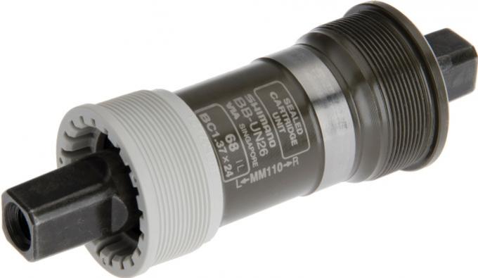 osa středová Shimano BBUN26 68-110BSA bez šroubu original balení