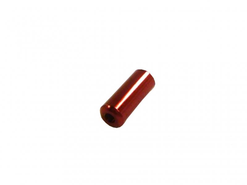 koncovka bowdenu 4.0mm Alhonga CNC červená 20ks