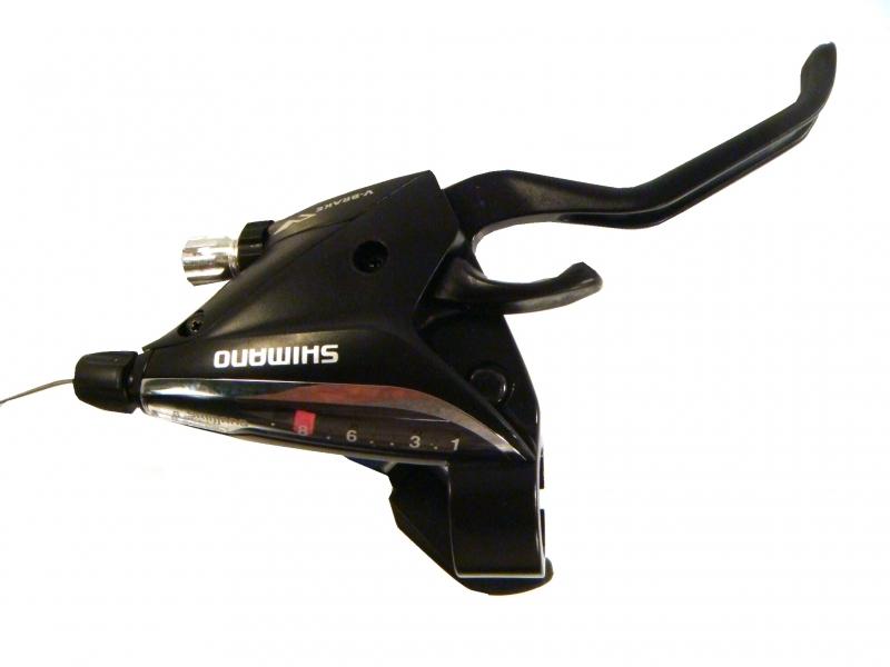 řadicí a brzdová páka Shimano ST-EF65 8p servisní balení