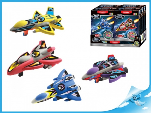 Paulinda Jet Fighters raketa 28g+14g, červená