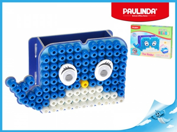 Paulinda Super Beads Jumbo velryba 10x8mm stojánek na tužky