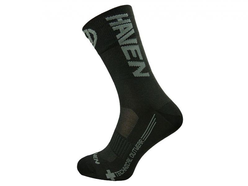 Ponožky HAVEN LITE SILVER NEO LONG 2páry černo/šedé