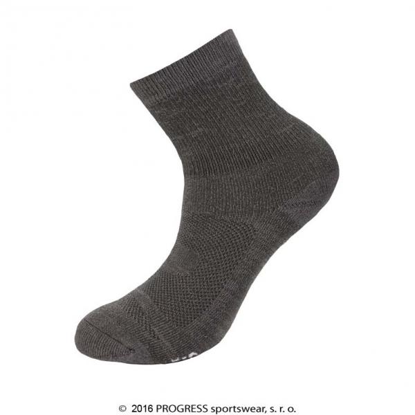 Ponožky Progress MANAGER bamboo winter šedé