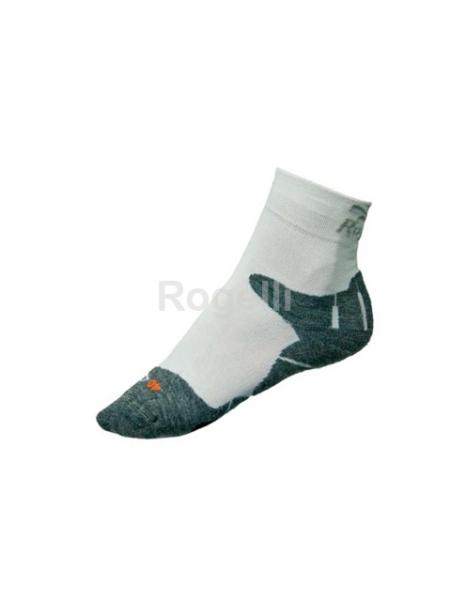 ponožky Rogelli GRADI Q-label bílá, L