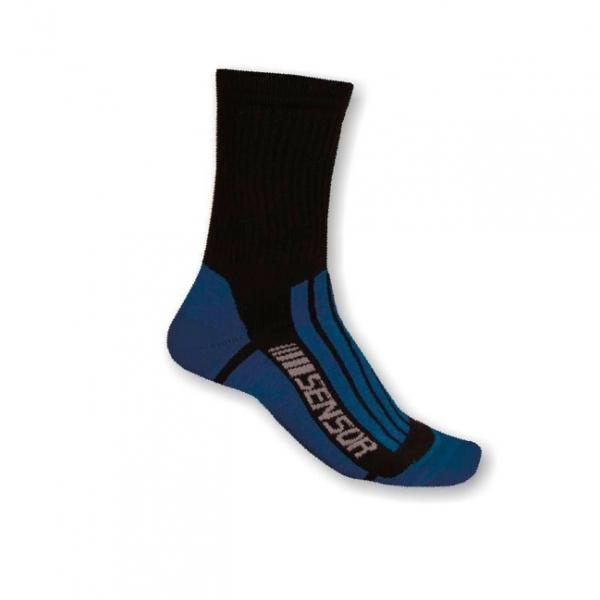 Ponožky SENSOR TREKING EVOLUTION černo/modré