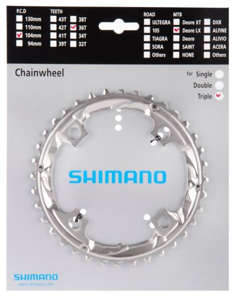 Převodník 36z Shimano SLX FC-M660 3x9 4 díry