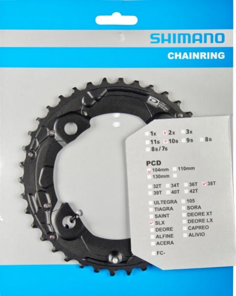 Převodník 38z Shimano SLX FC-M675 2x10 4 díry