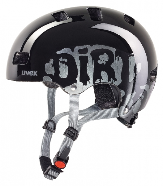 přilba dětská UVEX Kid 3 dirtbike black, 51-55