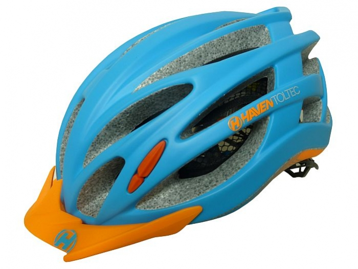 přilba HAVEN Toltec II modro/oranžová, L/XL
