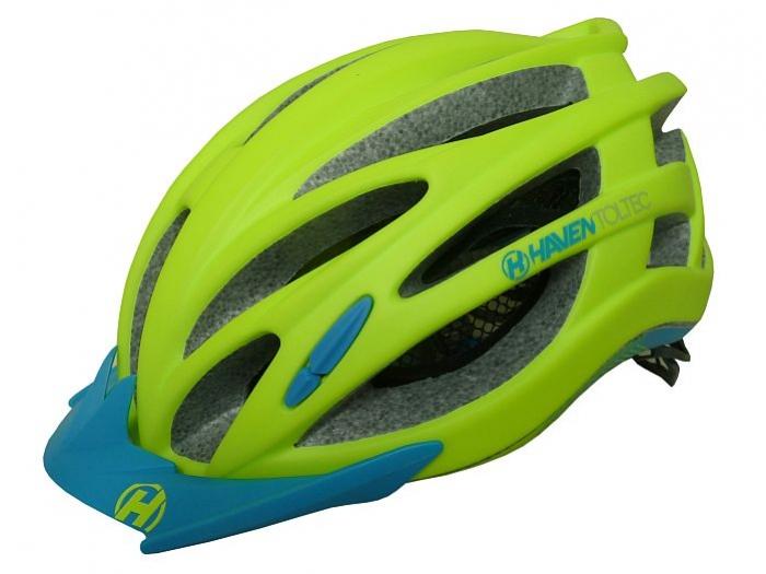 přilba HAVEN Toltec II zeleno/modrá, L/XL