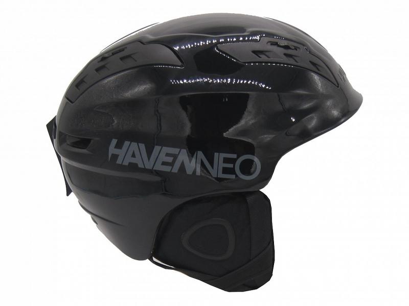 přilba lyžařská HAVEN Nexus NEO černá lesklá, L/XL