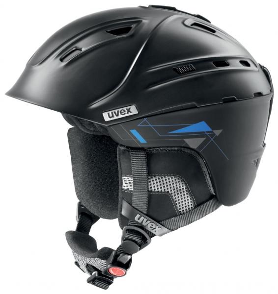 přilba lyžařská UVEX P2US černá, 51-55