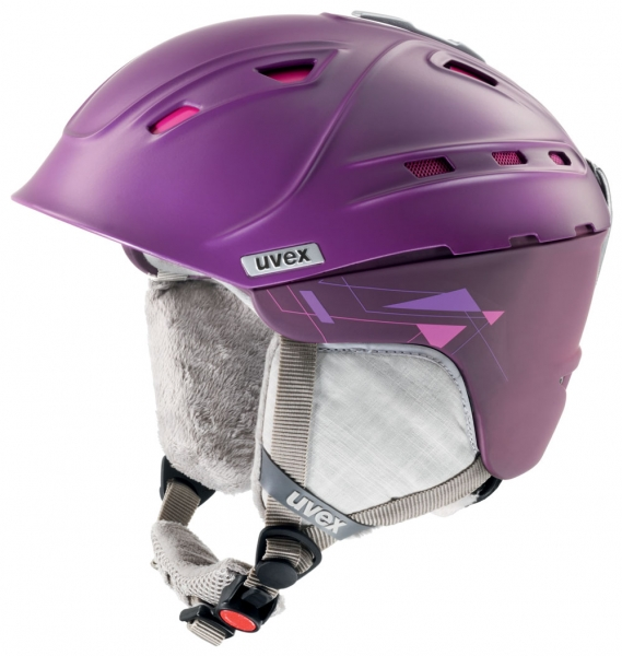 přilba lyžařská UVEX P2US WL fialová, 51-55