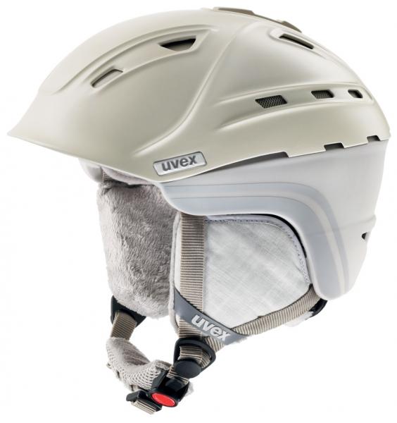 přilba lyžařská UVEX P2US WL krémová, 51-55