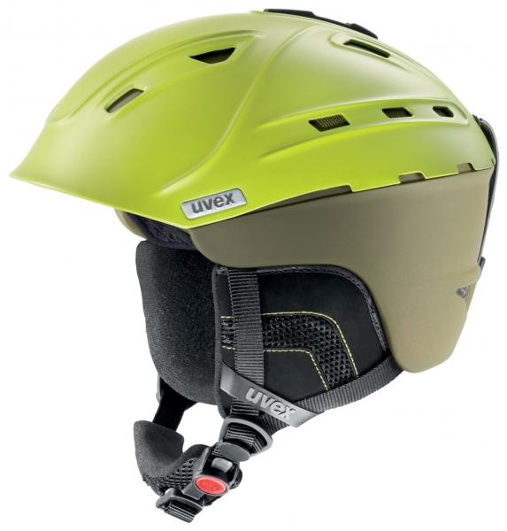 přilba lyžařská UVEX P2US zelená, 51-55