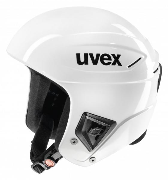 přilba lyžařská UVEX RACE + all white, 55-56