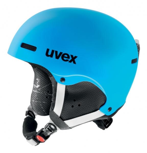 přilba lyžařská UVEX HLMT 5 JUNIOR modrá, 52-55