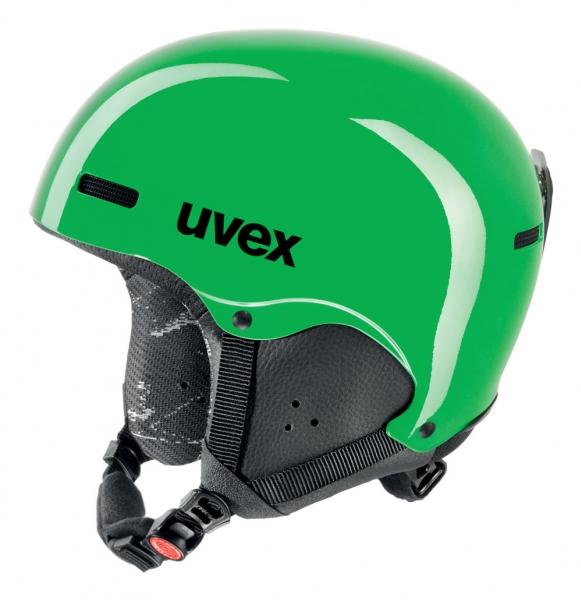 přilba lyžařská UVEX HLMT 5 JUNIOR zelená, 48-52