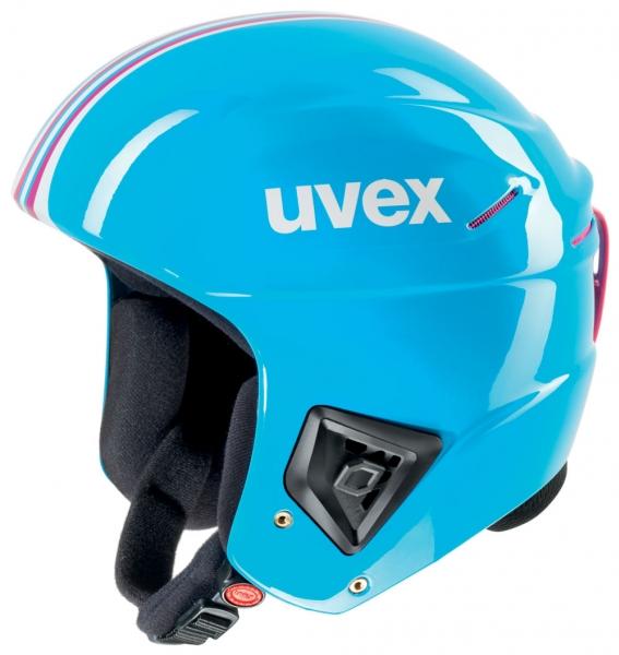přilba lyžařská UVEX RACE + tyrkysová, 60-61