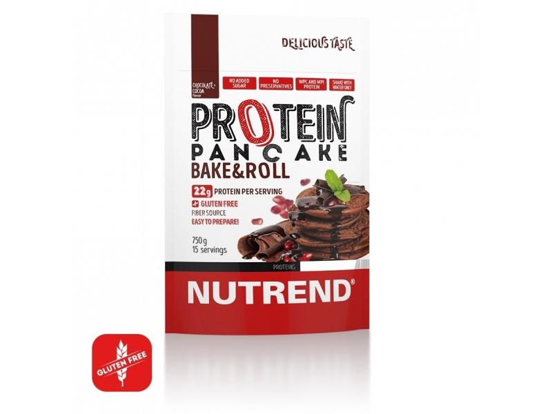 proteinové palačinky Nutrend 750g čokoláda+kakao