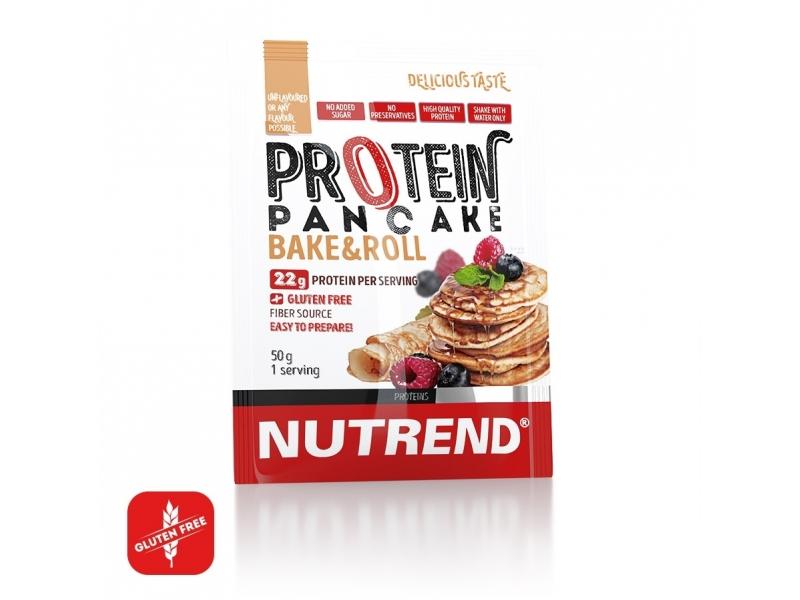 proteinové palačinky Nutrend 750g bez příchuti