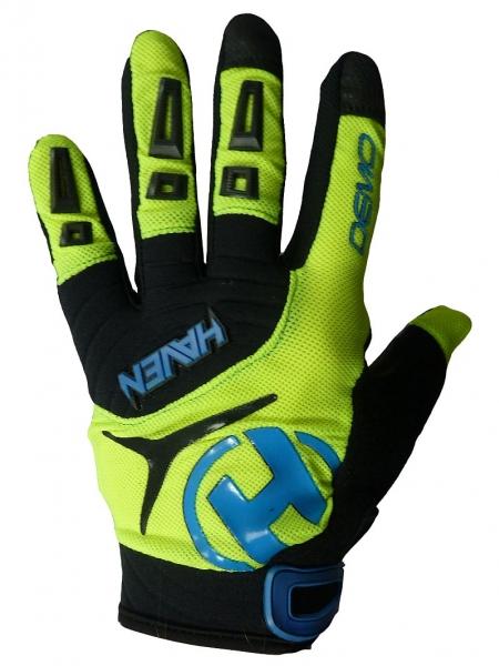 rukavice dětské HAVEN DEMO LONG zeleno/modré, 1
