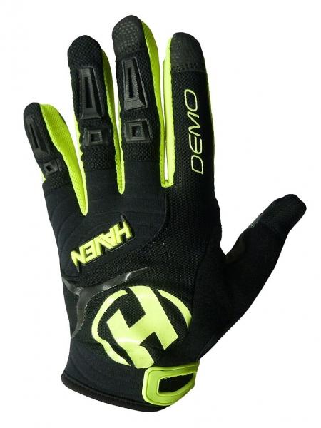 rukavice dětské HAVEN DEMO LONG černo/zelené, 1