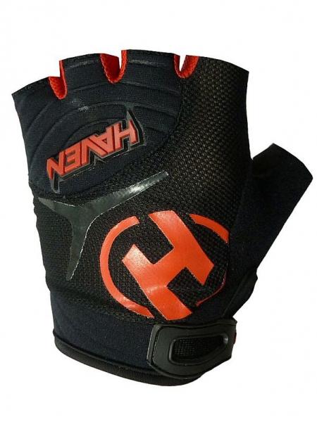 rukavice dětské HAVEN DEMO SHORT černo/červené, 1