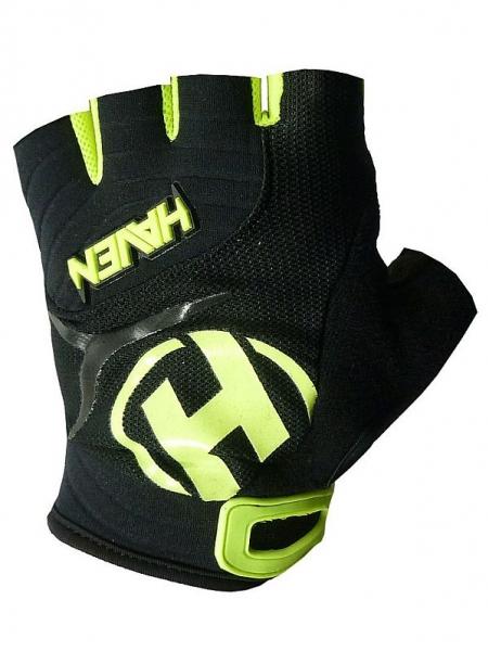 rukavice dětské HAVEN DEMO SHORT černo/zelené, 1