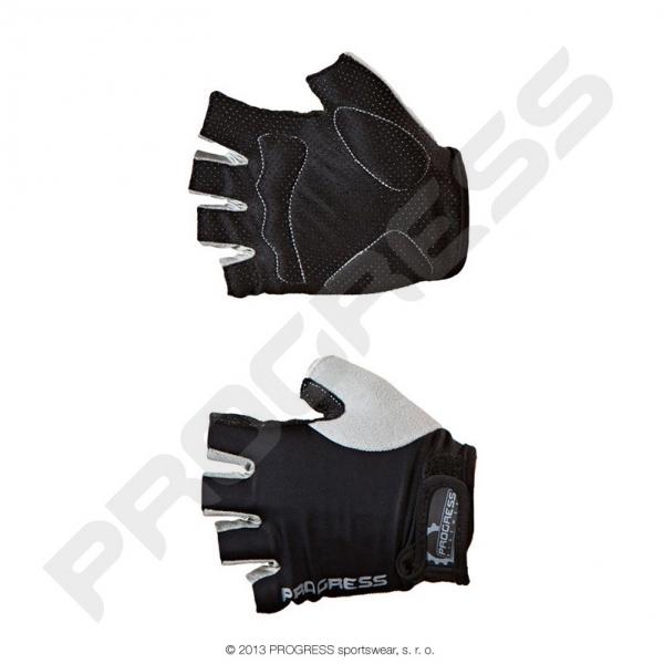 rukavice pánské Progress SIMPLE MITTS černo/šedé, L