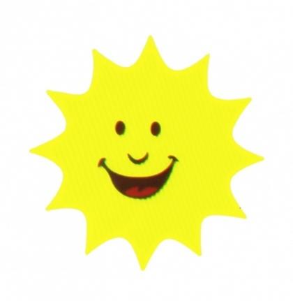 samolepka reflexní sluníčko
