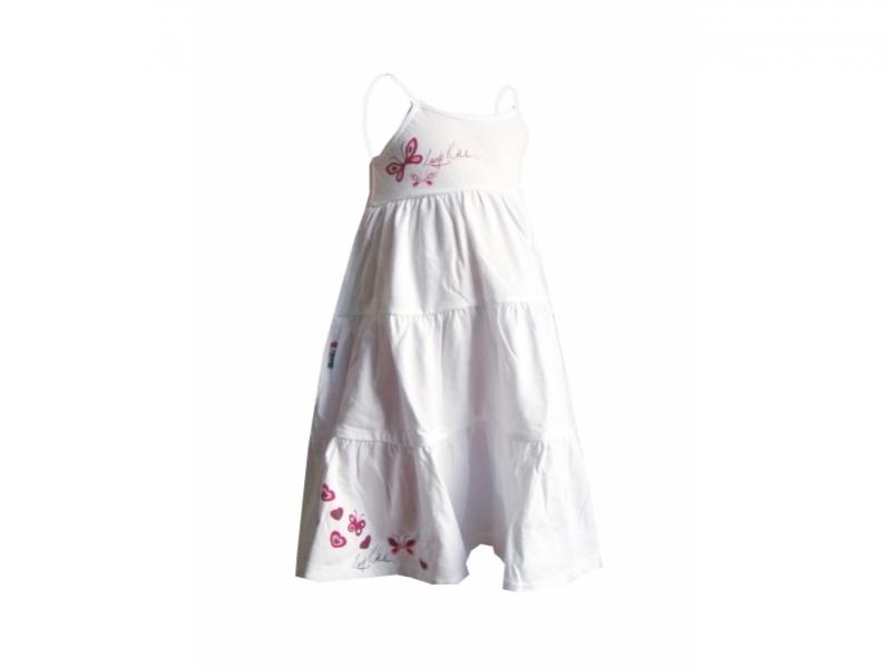 šaty dětské LOAP RAVELA bílé, 92